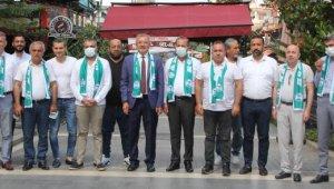 Serik Belediyespor yönetimi STK başkanlarıyla buluştu