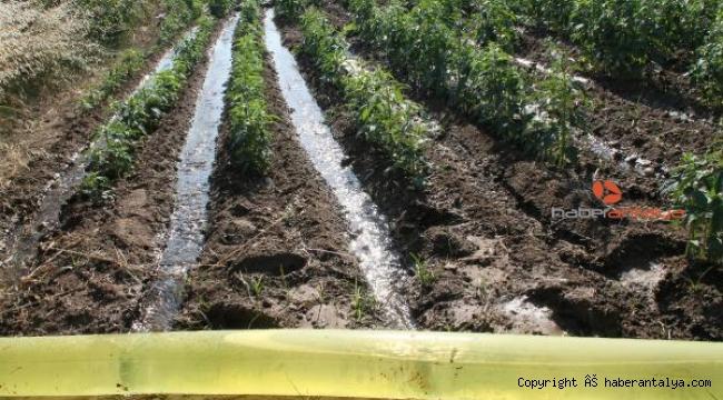 70 bin dönüm arazi kapalı devre sistemle sulanacak