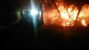 Antalya Kırkgöz Gölü çevresinde iki yangın !