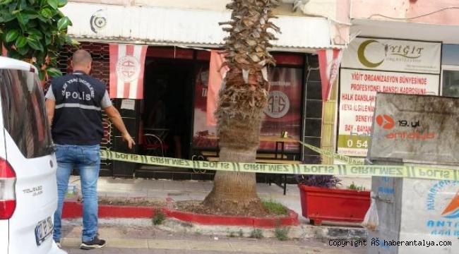Antalya'ta taraftar derneğine tüfekli saldırı