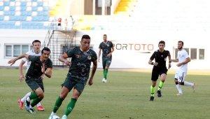Aytemiz Alanyaspor ilk hazırlık maçında 2-1 mağlup