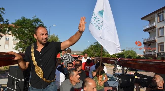 Başpehlivan Ali Gürbüz, baba ocağı Korkuteli'nde