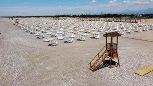 Caretta carettalar için özel plaj