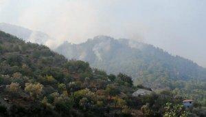 Gazipaşa'da 4 farklı noktada çıkan yangınlardan 3'ü kontrol altında