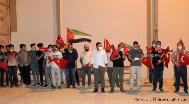 Genç Memur Sen'den İsrail protestosu
