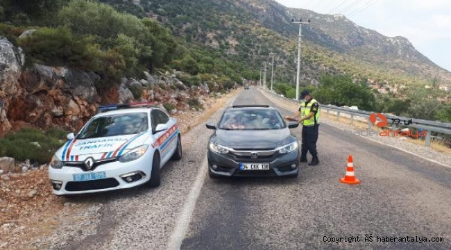 Jandarma ve polisten denetim