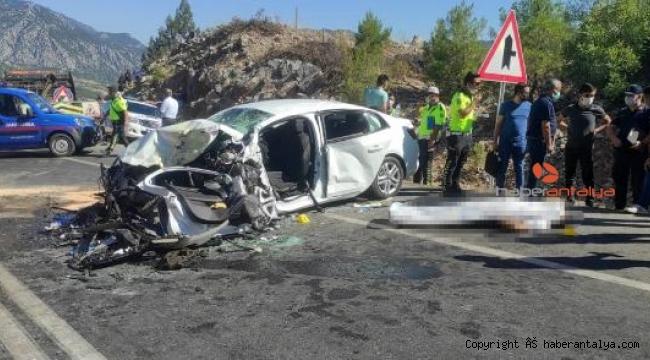 Kazada ölen polis memurunun yaralı eşi yoğun bakımda