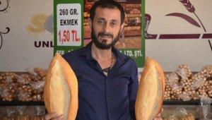 Meslektaşlarına kızan fırıncı, ekmeği 1,5 TL'den satmaya başladı