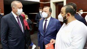 Cumhurbaşkanı Erdoğan'a Elmalı daveti