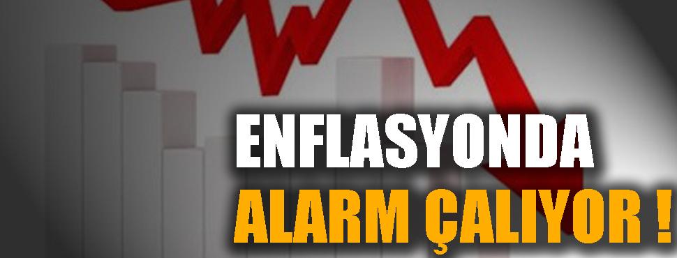 Enflasyonda alarm çalıyor !