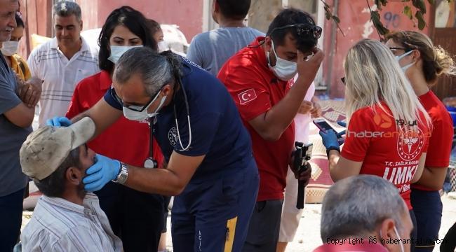 İl Sağlık Müdürü Ünal Hülür yangından kaç kişinin etkilendiğini açıkladı
