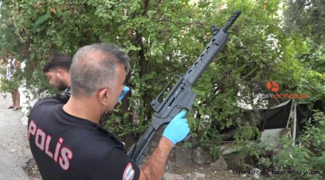 'Silah sıkıntı değil baba, canımı sıkanları vuracağım'