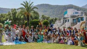 40 ülke güzeli, Antalya'da buluştu