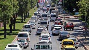 Antalya nüfusta 5. araç sayısında 4. sırada