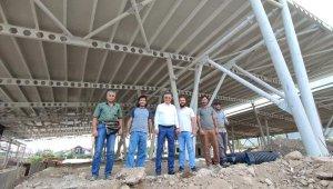 Arslanbucak kapalı pazarına kavuşuyor