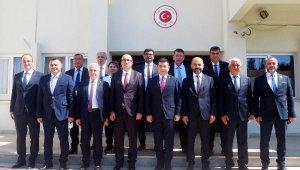Başkan Yücel 'kardeşlik' için Kıbrıs'ta