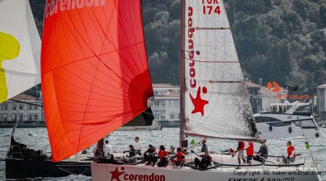 Corendon Cheese Yelken Takımı'ndan 20. Bosphorus Cup'ta IRC 2 sınıfı birinciliği