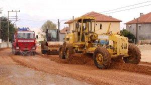 Elmalı Bayındır Mahallesi yolu yenileniyor