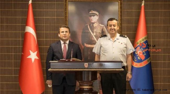 Kaymakam Çimşit'ten Tuğgeneral Özfidan'a ziyaret