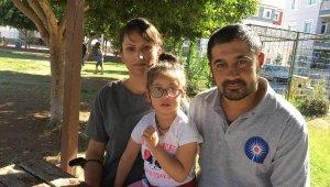 Küçük kız tek kelime edemiyor, ailesi yardım istiyor