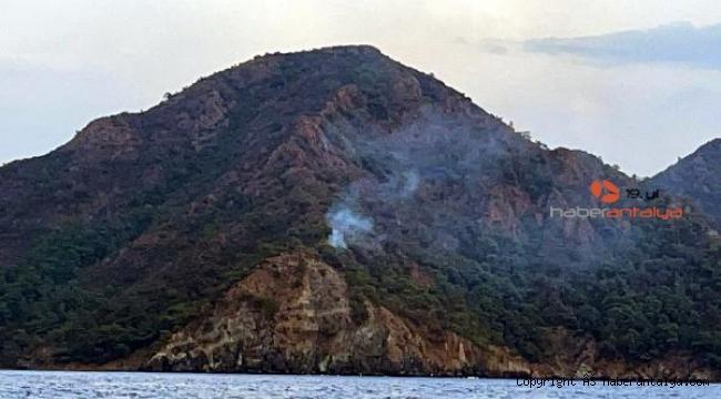 Marmaris'te orman yangını !