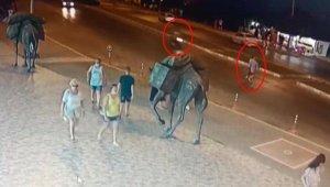 Motosikletin çarptığı Alman turistin acı sonu