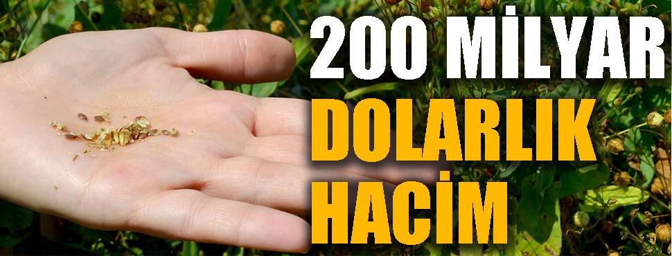 Tarım için hazine; 200 milyar dolarlık hacim