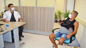 67 yaşındaki hasta, Antalya'da ilk olan operasyonla sağlığına kavuştu