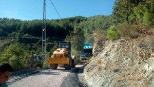 Alanya Belediyesi'nden yayla yollarına kış bakımı