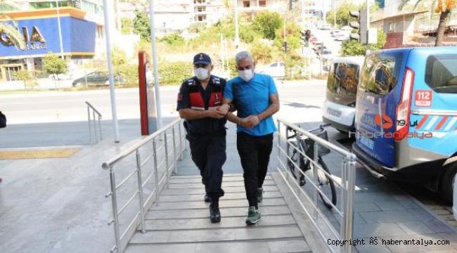 Alanya'da kaçak göçmen operasyonu !
