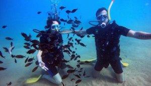 Antalya'da dalış turizmi sezonu uzadı