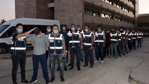Antalya'da 'Kartal Grubu'na operasyon: 16 gözaltı