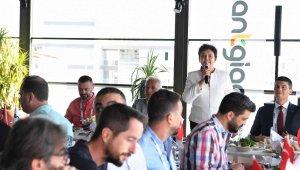 """Başkan Sert: """"Antalya'nın gençlerle yükselecek bir kent olmasına çaba gösteriyoruz"""""""