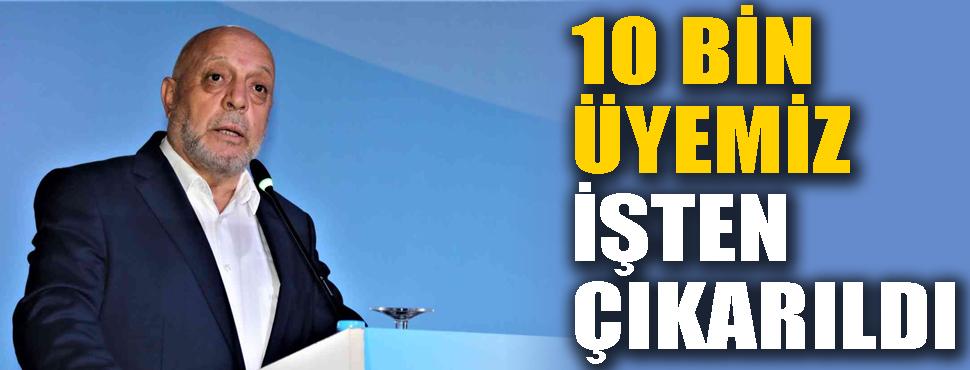 Hak-İş ve Hizmet-İş Genel Başkanı Arslan: