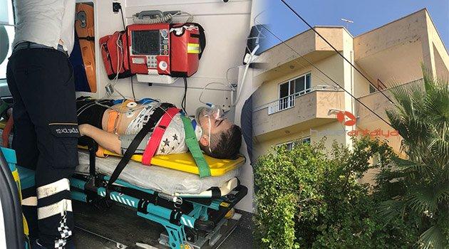 3. kattan düştü, asma hayatını kurtardı
