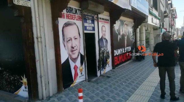 Ak Parti Seçim Merkezi'ne silahlı saldırı
