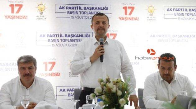 Ak Partili Taş: Muratpaşa'yı kazanmaya çok yakınız