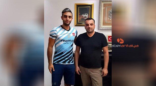 Alanya Belediyespor'a İranlı transfer