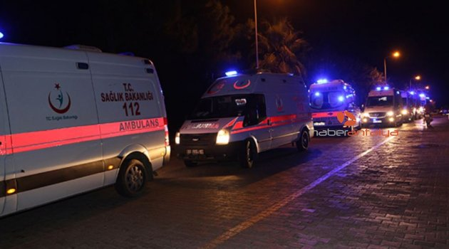 Alanya'da otelde 72 kişi zehirlendi