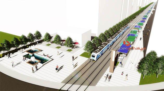 Ali Çetinkaya'da kentsel tasarım çalışmaları başladı