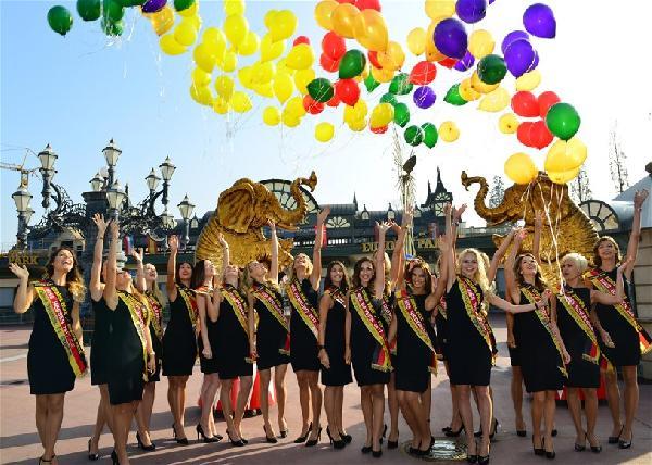 Almanya'nın En Güzel 21 Kızı Basına Tanıtıldı