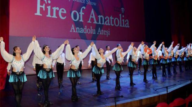 'Anadolu Ateşi' gösterilerine başladı
