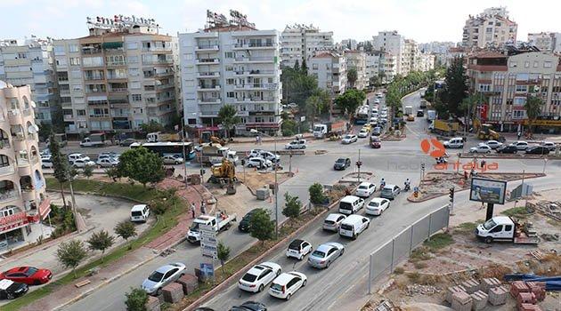 Antalya'da 46 kavşağa düzenleme
