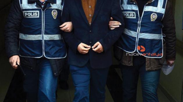 Antalya'da FETÖ operasyonu: Çok sayıda gözaltı