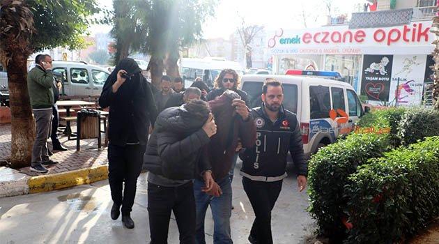 Antalya'da uyuşturucu operasyonu: 12 gözaltı