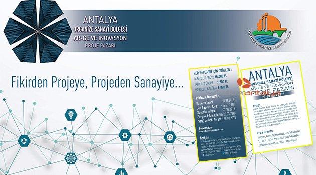 Antalya OSB'de proje pazarı