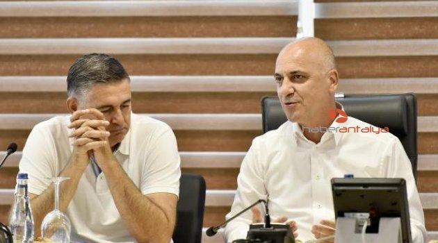 Antalya OSB'de sektör buluşmaları başladı