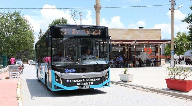 Antalya ulaşımda yeni uygulamalar
