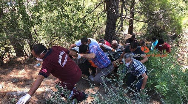 Antalya'da 4 gündür kayıp 4 kişi uçurumun dibinde ölü bulundu