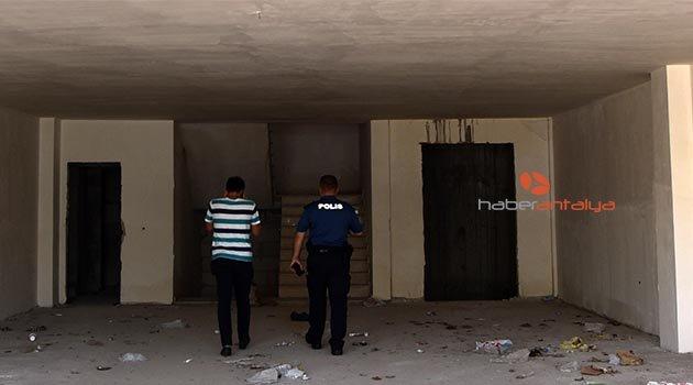 Antalya'da çürümüş erkek cesedi bulundu